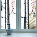 baratos Películas e Adesivos de Janela-Estampado Natal Adesivo de Janela, PVC/Vinil Material Decoração de janela Sala de Estar Banheiros Shop / Cafe Cozinha
