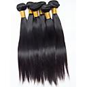 baratos Extensões de Cabelo Natural-6 pacotes Cabelo Brasileiro Liso Cabelo Virgem Cabelo Humano Ondulado 8-26 polegada Tramas de cabelo humano Extensões de cabelo humano Mulheres