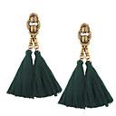 cheap Earrings-Women's Tassel Drop Earrings - Tassel, Vintage, Bohemian Blue / Wine / Depression Green For Wedding / Anniversary / Housewarming