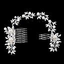 preiswerte Parykopfbedeckungen-Aleación Haarkämme / Kopfbedeckung mit Blumig 1pc Hochzeit / Besondere Anlässe / Party / Abend Kopfschmuck
