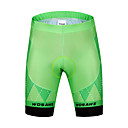cheap Cycling Pants, Shorts, Tights-WOSAWE Men's Cycling Padded Shorts Bike Padded Shorts / Chamois / Bottoms Classic Polyester, Spandex Green Bike Wear