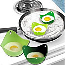 cheap Egg Tools-2 Pcs Eggcellent Poacher Colorful Non-stick Silicone Egg Cookware Pod Cup