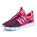 preiswerte Jungenschuhe-Mädchen Schuhe Tüll Frühling / Sommer / Herbst Komfort / Leuchtende LED-Schuhe Sneakers Walking LED für Blau / Rosa / Leicht Rosa