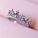 cheap Rings-Women's Ring - Alloy Crown Personalized 5 / 6 / 7 Silver For Wedding / Party / Daily
