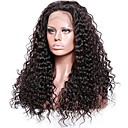 cheap Human Hair Wigs-Remy Human Hair Lace Front Wig / Glueless Lace Front Wig 150% / 180% Density Natural Hairline / African American Wig / 100% Hand Tied Women's Medium Length / Long Human Hair Lace Wig
