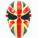 cheap Masks-Halloween Mask Practical Joke Gadget Halloween Prop Masquerade Mask Skull Mask Novelty Skull Horror Plastic Pieces Unisex Adults' Gift