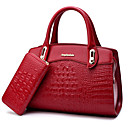 cheap Bag Sets-Women's Bags PU Bag Set for Wedding / Event / Party / Formal Blue / Black / Red