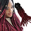 baratos Tranças de Cabelo-Cabelo para Trançar Crochê Tranças Crochet pré-laço 100% cabelo kanekalon / Kanikalon 20 raízes / pacote Tranças de cabelo Macio / sintético / Cabelo Ombre para Extensão