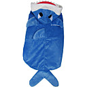 cheap Dog Clothes-Dog Costume Dog Clothes Animal Blue Plush Fabric Down Costume For Pets Men's Women's Cosplay