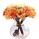 cheap Artificial Flower-Artificial Flowers 1 Branch Retro Plants Tabletop Flower
