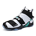 cheap Men's Athletic Shoes-Men's Flocking Fall / Winter Athletic Shoes Basketball Shoes Gray / Black / Gold / Black / Red