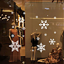 cheap Christmas Decorations-Decorative Wall Stickers - Plane Wall Stickers Romance / Christmas Decorations / Holiday Dining Room / Study Room / Office / Shops / Cafes