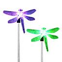 olcso kert fények-4db rozsdamentes acél 1 vezetett szoláris gyep fény útpálya sétáló kerti lámpa