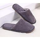 זול נעליי בית-כפכפי גברים כפכפי בית יום יומי סריגה צבע אחיד