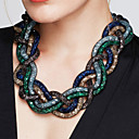 cheap Necklaces-Women's Stardust Statement Necklace - Statement, Vintage, Fashion Red, Green, Blue 52 cm Necklace 1pc For Party, Special Occasion, Birthday