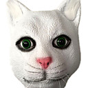 cheap Masks-Halloween Mask Animal Mask Party Cat Horror Glue Pieces Adults' Unisex Toy Gift
