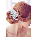 cheap Men's Accessories-Alloy Hair Combs / Headwear with Floral 1pc Wedding / Special Occasion / Party / Evening Headpiece