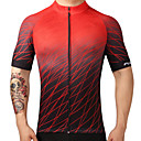 cheap Cell Phone Cases & Screen Protectors-FUALRNY® Men's Short Sleeve Cycling Jersey Gradient Bike Jersey Top, Quick Dry Breathability, Summer, 100% Polyester / High Elasticity
