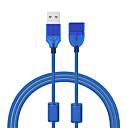 baratos Camisas & Shorts/Calças de Ciclismo-Cwxuan USB 2.0 Cabo de extensão, USB 2.0 to USB 2.0 Cabo de extensão Macho-Fêmea 1.2m (4Ft) 480 Mbps