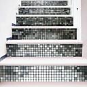 baratos Capas Para Tablet&Protetores de Tela-Lazer Adesivos de Parede Autocolantes 3D para Parede Autocolantes de Parede Decorativos, Plástico Decoração para casa Decalque Parede