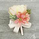 "olcso Esküvői virágok-Esküvői virágok Virágkitűzők Esküvő Különleges alkalom Szatén 4,33"" (Kb. 11 cm)"