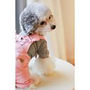 abordables Ropa para Perro-Perro Mono Ropa para Perro Británico Naranja Rosa Algodón Disfraz Para mascotas Hombre Mujer Casual/Diario