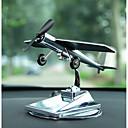 olcso Autós függők, díszítőelemek-Diy autóipari díszek szoláris repülőgép dísztárgyak autó kreatív repülőgép modell autó medál&Fém díszek