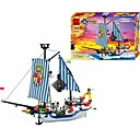 cheap Building Blocks-ENLIGHTEN Building Blocks 310 pcs Pirate Ship / Pirates / Pirate Ship Gift