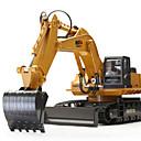 olcso RC Tanks-RC Car HUINA 1510 11 csatorna 2,4 G Kotrógép 1:16 Távirányító / Újratölthető / Elektromos