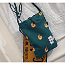 cheap Shoulder Bags-Women's Bags Canvas Shoulder Bag for Outdoor Blue / Green / White