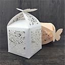 cheap Favor Holders-Others Creative Pearl Paper Favor Holder with Pattern Favor Boxes - 50