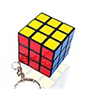 cheap Halloween Party Supplies-Rubik's Cube Mini Smooth Speed Cube Magic Cube Key Chain Puzzle Cube Smooth Sticker Gift Unisex