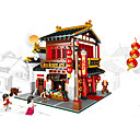 cheap Anime Action Figures-XINGBAO Building Blocks 2787 pcs Chinese Architecture Unisex Gift