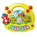 baratos Instrumentos de Brinquedo-Instrumento Musical de Brinquedo Quadrada Piano Instrumentos Musicais Animal Animais Unisexo