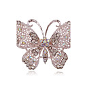 cheap Brooches-Women's Brooches - Butterfly, Animal Simple Style Brooch Silver For Party / Daily