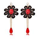 cheap Earrings-Women's Jewelry Drop Earrings - Red / Bohemian