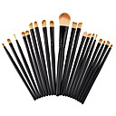 voordelige Make-up kwastensets-professioneel Make-up kwasten Brush Sets 20pcs Schattig Beugel Beukenhout / Aluminium Make-up borstels voor