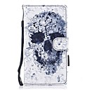 cheap Cell Phone Cases & Screen Protectors-Case For Huawei P10 Lite Wallet / Card Holder / with Stand Full Body Cases Skull Hard PU Leather for P10 Lite / P8 Lite (2017) / Honor 9