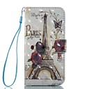 cheap Cell Phone Cases & Screen Protectors-Case For Apple iPhone 7 / iPhone 7 Plus Wallet / Card Holder / Flip Full Body Cases Eiffel Tower Hard PU Leather for iPhone 7 Plus / iPhone 7 / iPhone 6s Plus