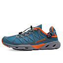 baratos Calçados & Acessórios-LEIBINDI Homens Sapatos Casuais / Sapatos de Montanhismo Anti-Escorregar, Vestível, Exterior Courino Preto / Azul Marinho Escuro