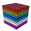 cheap Math Toys-216/512/1000 pcs 5mm Magnet Toy Magnetic Balls Building Blocks Super Strong Rare-Earth Magnets Neodymium Magnet Stress and Anxiety Relief Office Desk Toys DIY Kid's / Adults' Unisex Boys' Girls' Toy