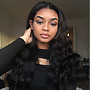 cheap Human Hair Wigs-Remy Human Hair Glueless Lace Front / Full Lace / Lace Front Wig Malaysian Hair Body Wave Wig 180% 100% Hand Tied Women's Long Human Hair Lace Wig