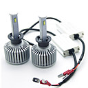 cheap Car Interior Lights-joyshine H1 Motorcycle Light Bulbs 80W Integrated LED 7200lm 4 Headlamp