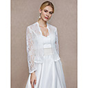 cheap Latin Dance Wear-Lace Wedding / Party / Evening Women's Wrap With Lace Coats / Jackets