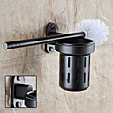 cheap Toilet Brush Holder-Toilet Brush Holder High Quality Aluminum 1 pc - Hotel bath
