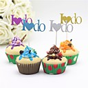 cheap Cake Toppers-Cake Topper Characters / Classic Theme / Holiday Paper Wedding / Party with 12pcs PVC Bag