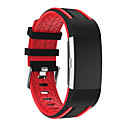 cheap Smartwatch Accessories-Watch Band for Fitbit Charge 2 Fitbit Sport Band / Modern Buckle Silicone Wrist Strap