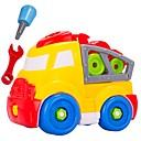 cheap Building Blocks-Building Blocks 28 pcs DIY / Large Size Construction Truck Set Gift