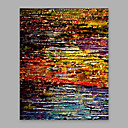 cheap Abstract Paintings-Oil Painting Hand Painted - Abstract Artistic Canvas