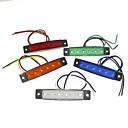 preiswerte Car Exterior Lights-SENCART 1 Stück LKW Leuchtbirnen 1.5W SMD LED- 120lm 6 Außenleuchten For Universal Alle Jahre